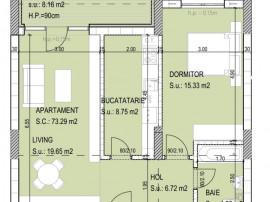 Corvaris Residence Titan - Parcul Teilor-Apartament 2 camere