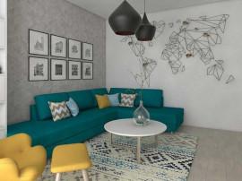 Apartament 2 camere Metrou Nicolae Teclu - Titan - Pallady