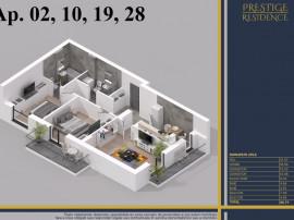 Prestige Residence - apartament 3 camere Theodor Pallady