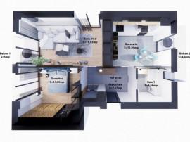 Apartament Nou 2 camere, Goldis Residence-Comision 0%