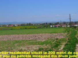 Parcele de casa in Halchiu Satu Nou 550mp panorama de vis