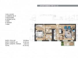 Cod P4087 - Apartament 2 camere Belvedere