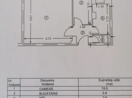 CANTACUZINO - gars., cf1A, dec, 2/4, T, intab - 43900 euro