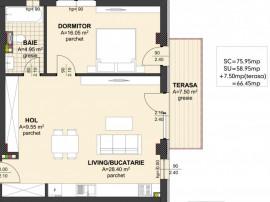Apartament nou - Str. Republici - Etaj II.