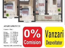 Apartament 3 camere, parcare inclusa - dristor FAZA 2