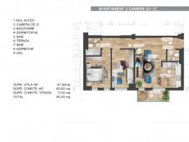 Apartament 3 Camere zona Barbu Vacarescu