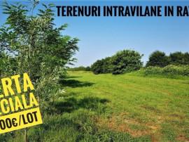 Cele mai bune OFERTE Teren Intravilan Bucuresti Ilfov / RATE