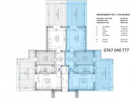 Apartament 2 camere cu vedere panoramica Terezian