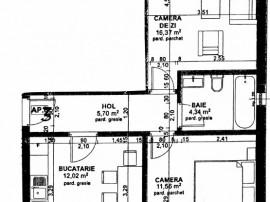 Apartament cu 2 camere la cheie