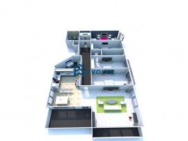 Penthouse 5 camere, 260 mp, 3 bai, 3 locuri de parcare