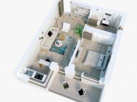 Apartament 2 camere in Mamaia Nord la 70m de plaja
