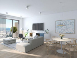 Apartament 3 camere cu gradina, finisat zona semicentrala Cl