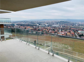 Apartament Gruia,4 camere, 100 mp,Panorama,garaj, bloc nou