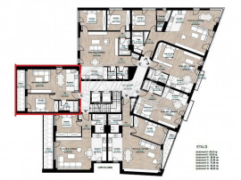 Apartament cu 2 camere, zona str. Constantin Brancusi