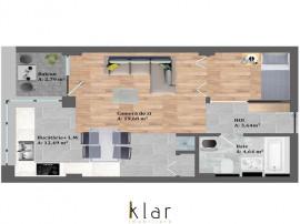 Apartament cu 1 camera zona Petrom, Baciu!