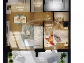 Apartament cu 2 camere in zona semicentrala