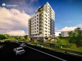 Apartament nou cu 1 camera - semidecomandat - 37.38 mp utili