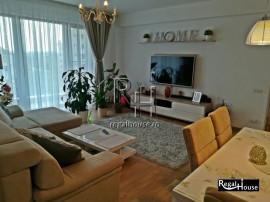 Baneasa - Sisesti, apartament 3 camere mobilat, loc parcare