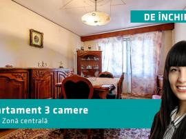 Apartament cu 3 camere în zonă centrală.