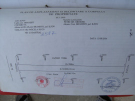 Schimb 10.000mp Teren Extravilan in Branesti sat Islaz Ilfov
