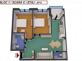Apartament 3 camere   Turnişor- 60 mpu   Etaj 1