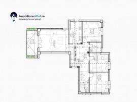 Apartament cu 4 camere, 109 mp, Podul de Fier