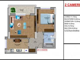 Apartament 2 camere,Metrou Aparatori Patriei-Berceni