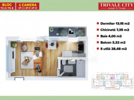 Garsoniera in Trivale City | TC5 1C1