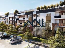 Apartament cu 2 camere decomandate de in Sibiu 52 mp utili