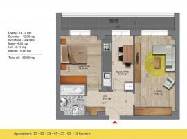 2 camere 2 minute metrou Berceni Program Noua Casa