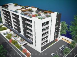 Elvila-3 camere 77,37mp+6,70mp balcon+90,34mp terasa+loc par