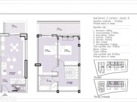 Duplex premium 3 cam. - Parcare - Zona Verde Vitan-Barzesti