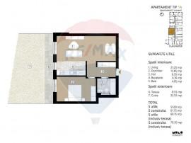 Apartament 2 camere- Complex rezidential nou-zona Mosilor