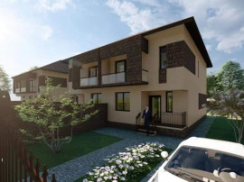 Casa tip duplex 3 dormitoare+ mansarda 40mp finisata
