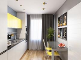 Apartament 2 camere -96 m curte