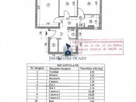 Apartament 3 Camere Decomandat Berceni-Huedin