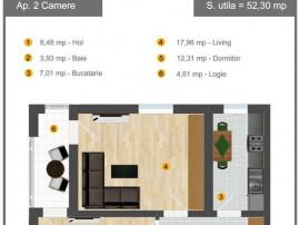 Apartament 2 camere -Bld. Iuliu Maniu - Militari Sopping ...