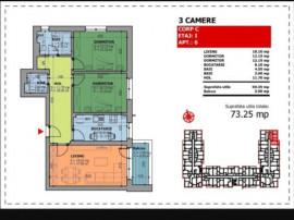 Apartament 3 camere, Brâncoveanu, adiacent!