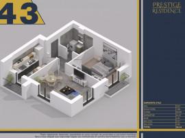 Prestige Residence apartament cu 2 camere
