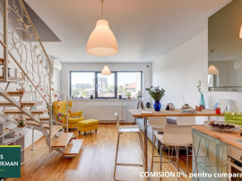 Apartament 2 camere tip duplex, spatios, 2 bai, Popa Nan