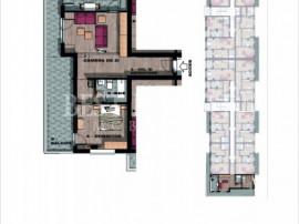 Apartament 2 camere generoase cu terasa 29 mp Brancoveanu -