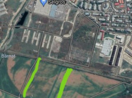 8000 mp posibilitate parcelare- zona Selgros 10Euro/mp