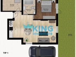 Doamna Ghica l Apartament 2 camere l Parcare l Parc Plumbuit