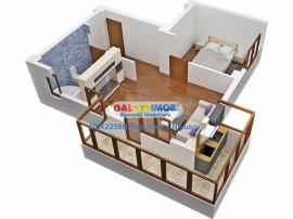 Apartament 2 camere in Militari Residence, Totul nou,