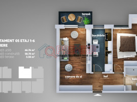 Metalurgiei - Aparatorii Patriei, Apartament 2 camere
