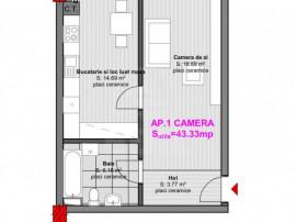 Apartament cu o camera la pret bun!