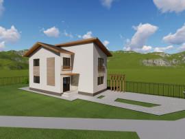 Casa (vila) lux,intrare sanpetru,135 mp,la asfalt