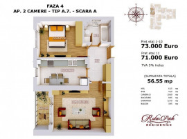 Apartamen 2 camere  bloc nou,dec 1min metrou Pacii,Militari