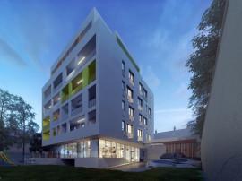 Penthouse 4 camere cu terase de 49 mp in zona centrala
