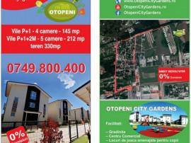 Vile 4 & 5 camere Otopeni City Gardens, Direct Dezvoltator